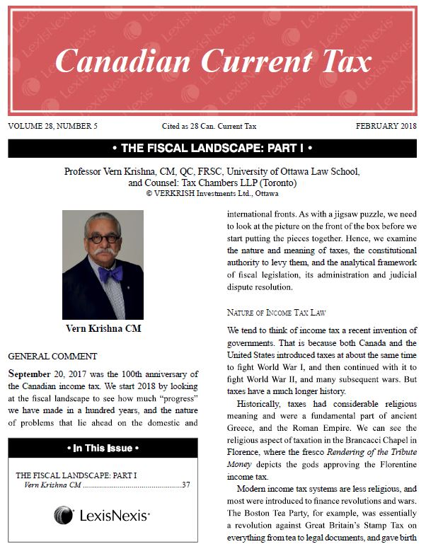 The Fiscal Landscape | TaxChambers LLP